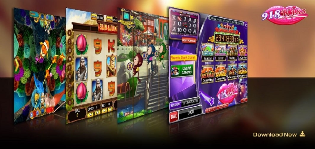CASINO GAMES AVAILABLE ON 918KISS MALAYSIA