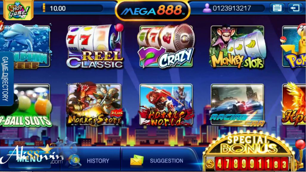 GUIDE TO PLAYING ON MEGA888 USING YOUR PC
