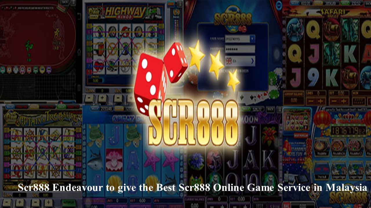 PLAYING PLAYTECH GAMES ON SCR888 ONLINE CASINO